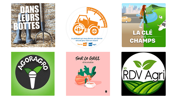 Les podcasts agricoles
