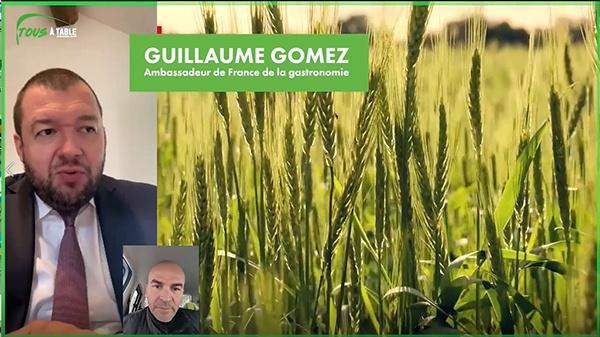 Guillaume Gomez, parrain des Journées Nationales de l'Agriculture
